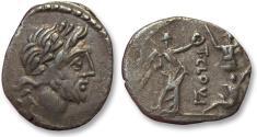 Ancient Coins - AR Quinarius, T. Cloelius / Cloulius. Rome 98 B.C.