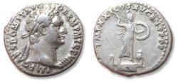 Ancient Coins - AR denarius Domitian / Domitianus, Rome mint 90 A.D.