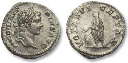Ancient Coins - AR denarius Caracalla, Rome 201-206 A.D. - VOTA SVSCEPTA X, uncommon -