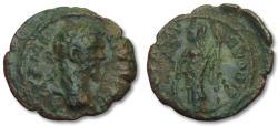 Ancient Coins - AE 18 (assarion) Septimius Severus, Moesia Inferior -- Nikopolis ad Istrum 193-211 A.D. --Athena--