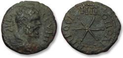 Ancient Coins - AE 17 (assarion) Septimius Severus, Moesia Inferior - Nikopolis ad Istrum 193-211 A.D -star-