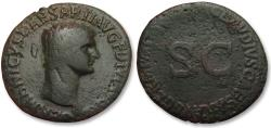 Ancient Coins - AE As Germanicus, struck posthumously under Claudius, Rome 50-54 A.D.