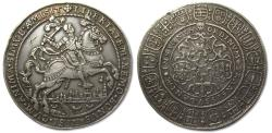 World Coins - Spanish Netherlands, OVERIJSSEL, AR medal / show taler ND (1597): Dutch victory at the battle of Turnhout