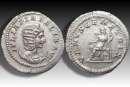 Ancient Coins - AR antoninianus Julia Domna, Rome 216 A.D. - large 24mm flan, sharply struck -