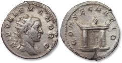 Ancient Coins - AR antoninianus, struck under Trajan Decius for DIVUS ALEXANDER, Rome mint 250-251 A.D. - DIVO ALEXANDRO, scarce/rare coin -