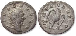 Ancient Coins - AR antoninianus, struck under Trajan Decius for DIVUS SEVERUS, Rome mint 250-251 A.D. - DIVO SEVERO, scarce/rare coin -