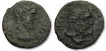 Ancient Coins - AE 16 (assarion) Septimius Severus, Moesia Inferior - Nikopolis ad Istrum 193-211 A.D. - Hercules-