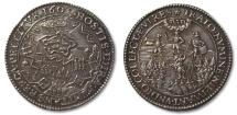 World Coins - SPANISH NETHERLANDS AR silver jeton 1601: on the siege of Rijnber5 (Rheinberg)