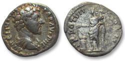 Ancient Coins - AR denarius Marcus Aurelius as Caesar, Rome 152-153 A.D.