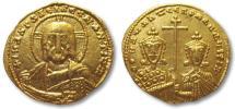 AV gold solidus, Constantine VII and Romanus II, Constantinople 913-959 A.D.