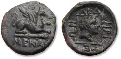 Ancient Coins - Thrace, Abdera. AE 17mm unit, 311-280 B.C. - superb coin, Ex Gorny & Mosch (with ticket) -