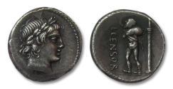 Ancient Coins - AR denarius L. Marcius Censorinus, Rome 82 B.C.