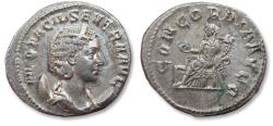 Ancient Coins - AR Antoninianus Otacilla / Otacilia Severa - wife of Philip I - Rome 246-248 A.D. - CONCORDIA AVG, high quality coin