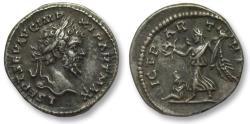 Ancient Coins - AR denarius Septimus / Septimius Severus, Laodicea 198-202 A.D. - VICT PARTHICAE -