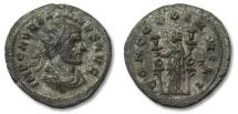 Ancient Coins - AE antoninianus Aurelianus. CONCORDIA MILI, Siscia mint 270 A.D.