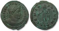 Ancient Coins - AE 25mm follis Constantine I The Great, London / Londinium mint 307-310 A.D.