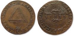 World Coins - AE jeton 1574 Spanish Netherlands, Dordrecht: on the Freedom of Religion in Holland & Zeeland