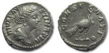 AR denarius Diva Faustina II Junior, struck under Marcus Aurelius, Rome 176-180 A.D.