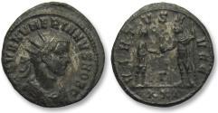 Ancient Coins - AE silvered antoninianus Numerian / Numerianus as Caesar, Antioch 282-283 A.D.