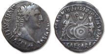 Ancient Coins - AR denarius Augustus, Lyon / Lugdunum 2 B.C. - 4 A.D. -- Gaius & Lucius --