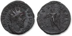 Ancient Coins - AE antoninianus Postumus, Trier 260-269 A.D. -- NEPTVNO REDVCI --