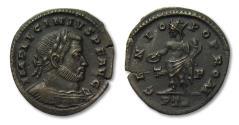 Ancient Coins - AE follis Licinius I, Trier mint 310-313 A.D.