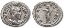 Ancient Coins - AR denarius Maximinus Thrax, Rome 235-236 A.D.