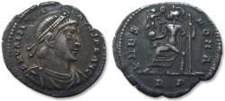 Ancient Coins - AR siliqua Valentinianus / Valentinian I, Rome mint 364-375 A.D.
