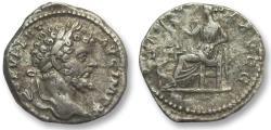 Ancient Coins - AR denarius Septimus / Septimius Severus, Laodicea 197-198 A.D. -- SALVTI AVGG --