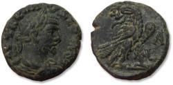 Ancient Coins - 21mm BI billon tetradrachm emperor Claudius II Gothicus. Egypt, Alexandria mint dated RY 1 = 268-269 A.D.