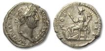 Ancient Coins - AR denarius Hadrian / Hadrianus, Rome 134-138 A.D.