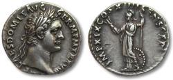 Ancient Coins - AR denarius Domitian / Domitianus, Rome 88-89 A.D.