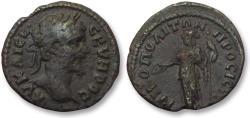 Ancient Coins - AE 17 (assarion) Septimius Severus, Moesia Inferior - Nikopolis ad Istrum 193-211 A.D. - Athena -