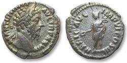 Ancient Coins - AR denarius Marcus Aurelius, Rome 173-174 A.D.