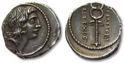 Ancient Coins - AR Denarius, M. Plaetorius Cestianus, Rome 69 B.C. - beauty - Ex Peus & Ex Spink -