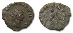 Ancient Coins - AE antoninianus Claudius II Gothicus, Rome 270 A.D., 12th officina -- beauty --