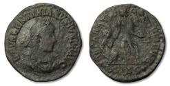 Ancient Coins - MO: AE23 Valentinianus II, Siscia 375-392 A.D.