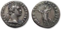 Ancient Coins - AR denarius Domitian / Domitianus, Rome 91-92 A.D.