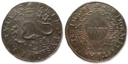 World Coins - AE jeton 1605 Spanish Netherlands: Discovery and Failure of the Gunpowder Plot