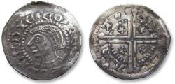 World Coins - Medieval Netherlands - AR silver denier / penny Floris V, count of Holland & Zeeland, emission 1284-1286