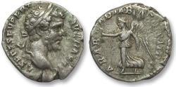 Ancient Coins - AR denarius Septimus / Septimius Severus, Rome mint 195 A.D. -- ARAB ADIAB COS II P P --