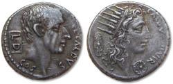 Ancient Coins - AR denarius C. Coelius Caldus, Rome 51 B.C. - scarcer coin -