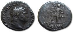 Ancient Coins - AR denarius Nero, Rome 66-67 A.D. -- Ex De Bekker collection --