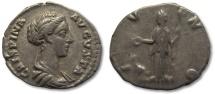 AR denarius Crispina, Rome 178-182 A.D. --IVNO--
