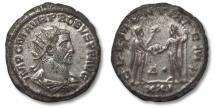 Ancient Coins - PROBUS, almost fully silvered, CLEMENTIA Antoninianus 276-282 A.D.