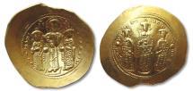 Ancient Coins - AV gold histamenon Romanus IV Diogenes, 1068-1071 A.D. -- near mint state coin --