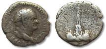 Ancient Coins - AR drachm Vespasian / Vespasianus, CAPPADOCIA, Caesarea 69-79 A.D.