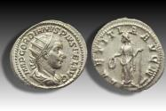 Ancient Coins - AR antoninianus Gordian III, Rome 240 - 243 A.D. - mint state coin with lustre in fields, beauty -