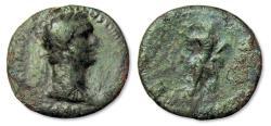 Ancient Coins - AE As Domitian / Domitianus, Rome 88-89 A.D.