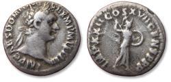 Ancient Coins - AR denarius Domitian / Domitianus, Rome mint 81-96 A.D.